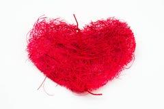 Cadre de forme de coeur illustration stock