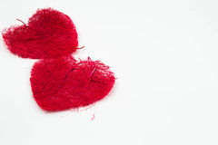 Cadre de forme de coeur Image libre de droits