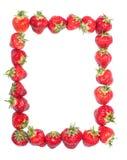 Cadre de fraise. Photographie stock libre de droits