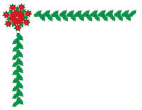 Cadre de frontière de Noël Images stock