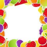 Cadre de fruit Photographie stock libre de droits