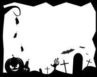 Cadre de Halloween Photos stock