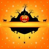 Cadre de Halloween Photographie stock libre de droits