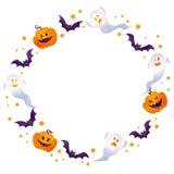 Cadre de Halloween Images libres de droits