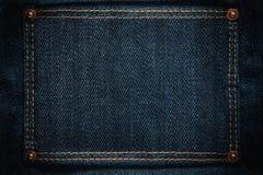 Cadre de jeans Images libres de droits