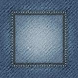 Cadre de jeans Image libre de droits
