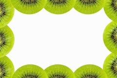 Cadre de kiwi d'isolement Photos libres de droits