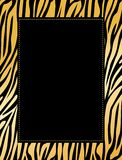 Cadre de léopard/tigre Photos libres de droits