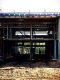 Cadre de la nouvelle construction Photographie stock