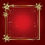 Cadre de luxe de Noël illustration stock