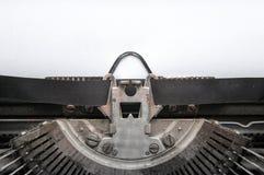 Cadre de machine à écrire Photos libres de droits