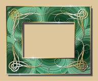 Cadre de malachite Image libre de droits
