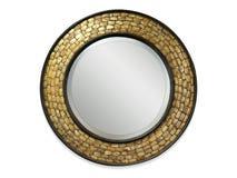 Cadre de miroir d'isolement dans le fond image libre de droits