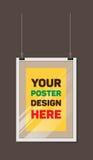 Cadre de mocap de vecteur pour votre conception Photographie stock libre de droits