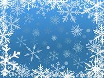 Cadre de neige Photos stock