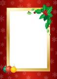 Cadre de Noël Photo libre de droits