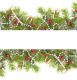 Cadre de Noël image stock