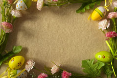 Cadre de Pâques Images libres de droits