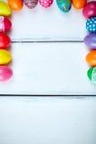 Cadre de Pâques Photos stock