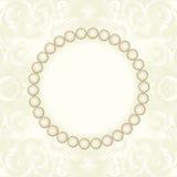 Cadre de perle Photo libre de droits