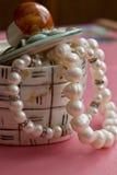 Cadre de perles Photo libre de droits