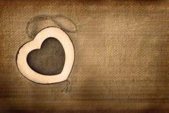 Cadre de photo de coeur Photo stock