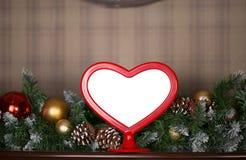 Cadre de photo de Noël images stock