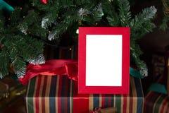Cadre de photo de Noël photos stock