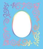 Cadre de photo de Pâques Photographie stock libre de droits