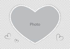 Cadre de photo pour le conjoint ou l'enfant aimé illustration de vecteur