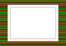 Cadre de photo - style de Noël Photo stock