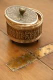 Cadre de poudre de cru Photo stock