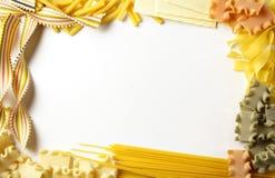 Cadre de pâtes Photos stock