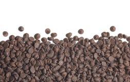 Cadre de puces de chocolat Image stock