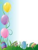 Cadre de réception de Pâques Images libres de droits