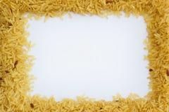 Cadre de riz brun Photographie stock libre de droits