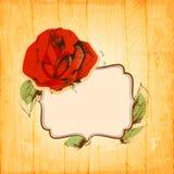 Cadre de Rose Image libre de droits
