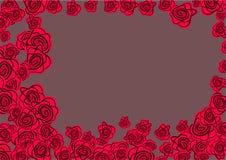 Cadre de Rose Photo libre de droits
