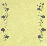 Cadre de Rose de cru avec l'espace de copie Photos stock
