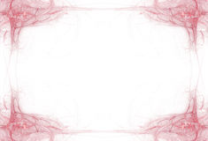 Cadre de rouge de sang de cadre Image libre de droits