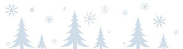Cadre de scène de l'hiver de Milou Photos stock