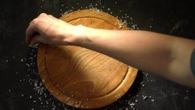 Cadre de sel de mer banque de vidéos