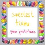 Cadre de sucrerie Photos stock