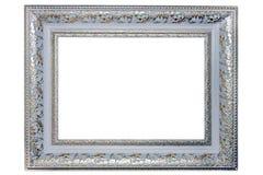 Cadre de tableau argenté Photographie stock libre de droits