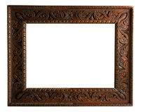 Cadre de tableau avec le chemin de découpage Photographie stock