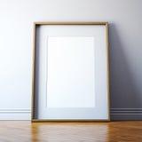 Cadre de tableau blanc Photographie stock