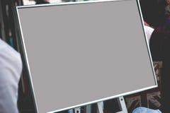 Cadre de tableau blanc Photos libres de droits