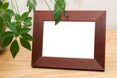 Cadre de tableau blanc prêt pour que l'image faite sur commande soit ajoutée Image libre de droits