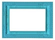 Cadre de tableau bleu Photographie stock libre de droits