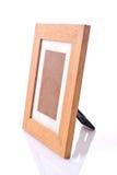 Cadre de tableau, bois plaqué photo stock